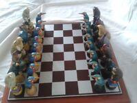 Birds of Prey Chess Set
