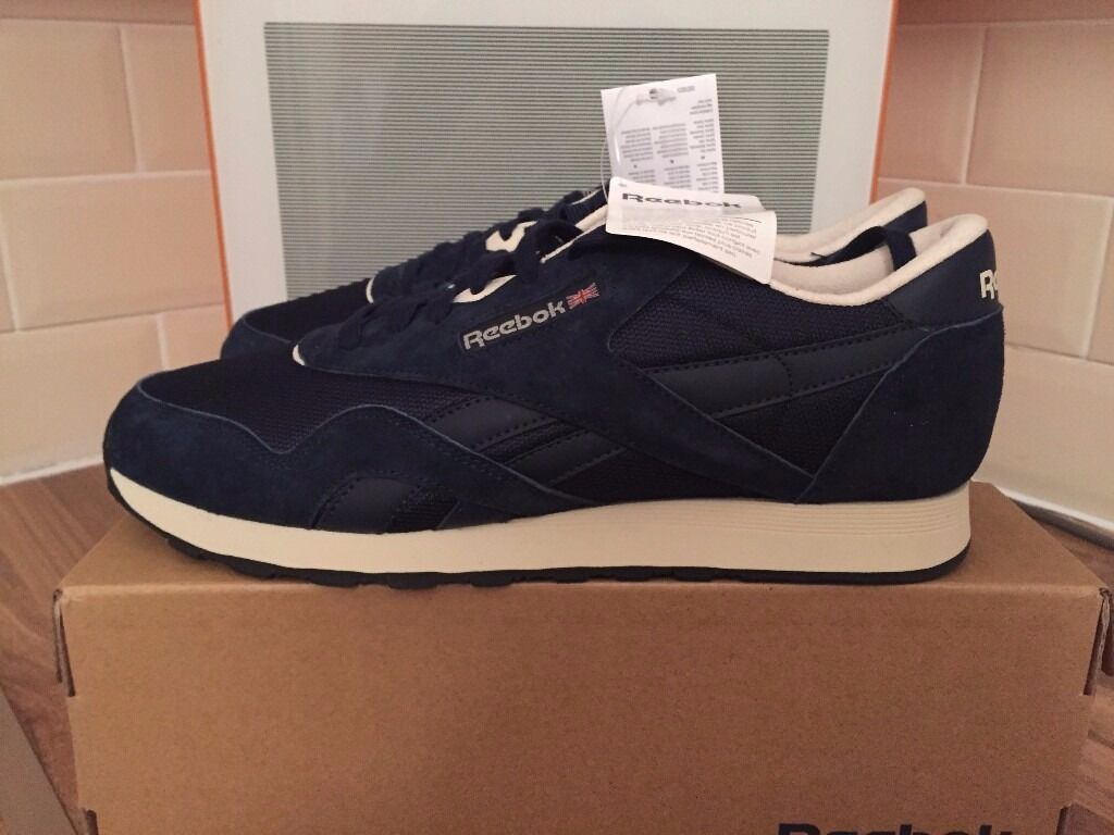 reebok classic trainers mens size 9
