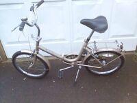 Vintage folding BGA bicycle in full working order.