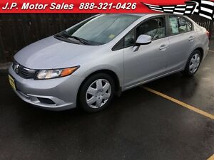 2012 Honda Civic EX, Automatic, Sunroof, Only 52,000km