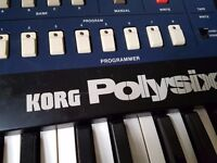 Korg PolySix perfect working condition poly six poly 6