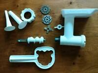 Meat grinder mincer add-on for Kitchenaid