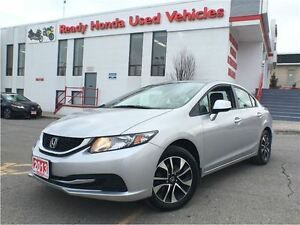 2013 Honda Civic Sedan EX - Sunroof - Alloys - R.Cam