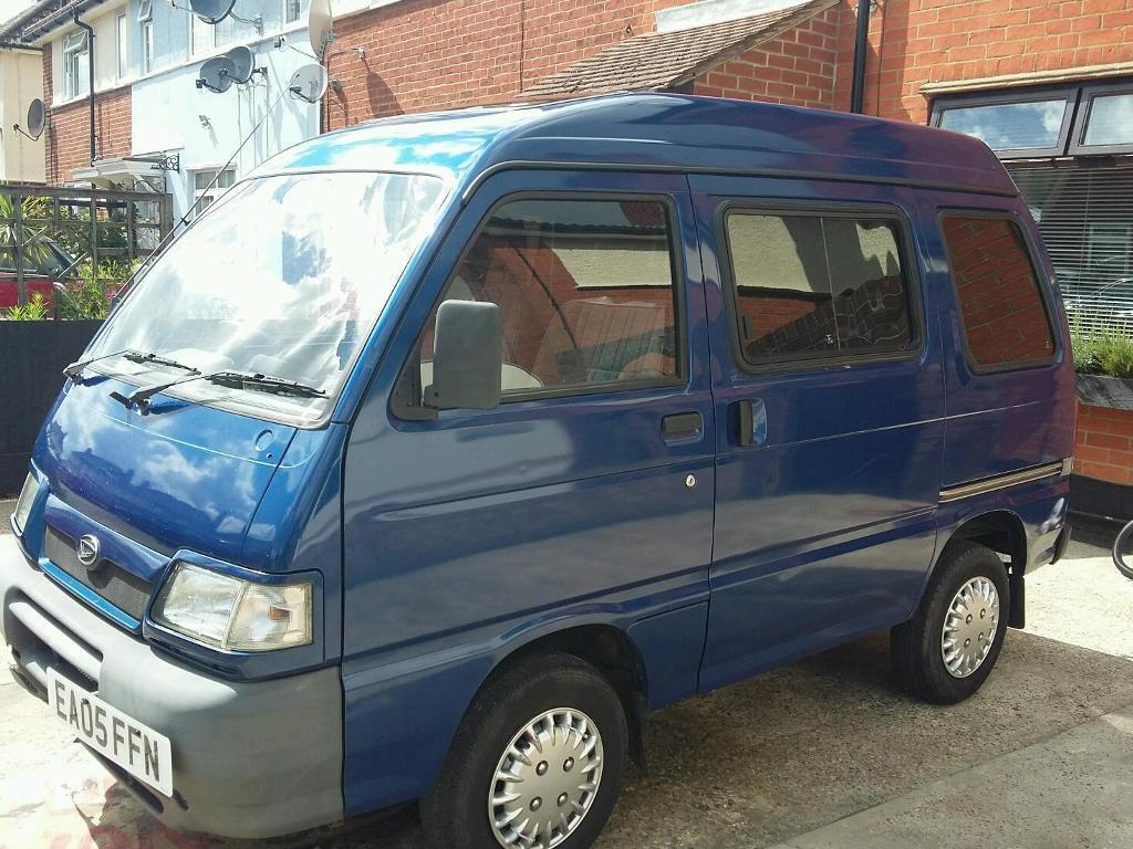 Daihatsu Hijet 2005 1.6v EFI Lpg Gas Vans Camper Van