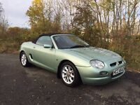 L@@K MGF 1.8 Convertible **12 MONTHS MOT** FULL LEATHER** BARGAIN