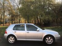 2003 Volkswagen Golf Hatchback E Petrol 1390cc.BRILLIANT DRIVE.CHEAP INSURANCE/FUEL.GREAT FIRST CAR.