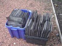Roof slates, approx. 180 slates