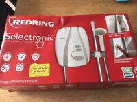Resring Selectronic shower brand new
