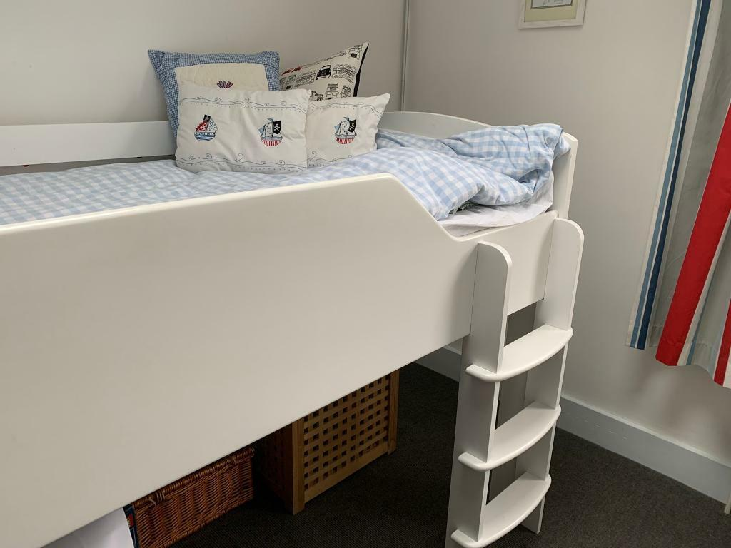 Picture of: Aspace Juicy Fruits Mid Sleeper Cabin Bed And Mattress In Stoke Newington London Gumtree