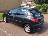 2004 Peugeot 206 1.4 8v S 5dr (a/c) One Owner HPI Clear @07445775115@ 07725982426@