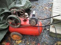 older  large  air compressor