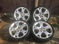 Vauxhall 19 inch snow flakes alloys and tyres
