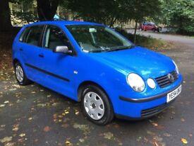 Volkswagen VW Polo 1.2 E **Brand New New MOT Only 44,000miles**