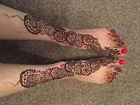 Freelance henna/mehndi artist - specialise in natural and white henna