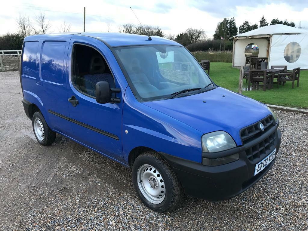 Fiat Doblo Cargo Van 19 Jtd 2002 In Wickford Essex Gumtree