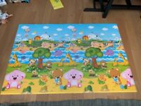 Baby Care Play Mat Large Rectangle - Two sided 210cm x 140cm x 1.3cm(Thickness)