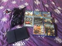 PLAYSTATION 2 PS2 SLIM WITH GAMES