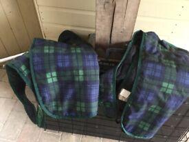 Two dog coats
