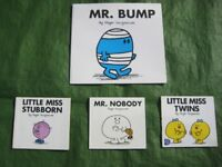 Two Mr Men and Two My Little Miss Books by Roger Hargreaves for £3.00