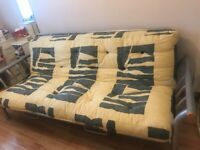 Double sofa bed good condition rarely used £50