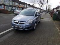 Vauxhall zafira 1.9 cdti automatic, parking sensors, half leather, Pco badge, Excellent condition