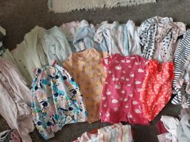 Girls baby clothes 0-3 and 3-6 months bundles