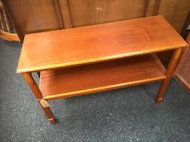 NICE VINTAGE TWO TIER COFFEE/ OCCASIONAL TABLE