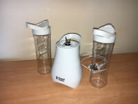 Russell Hobbs mix & go cool smoothie blender.