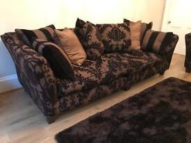Lovely 4 Seater Ashley Manor Sofa