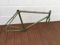 Vintage steel road frame set