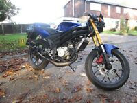Rieju rs2 Matrix Street Fighter with Aprilia rs50 am6 engine 50cc