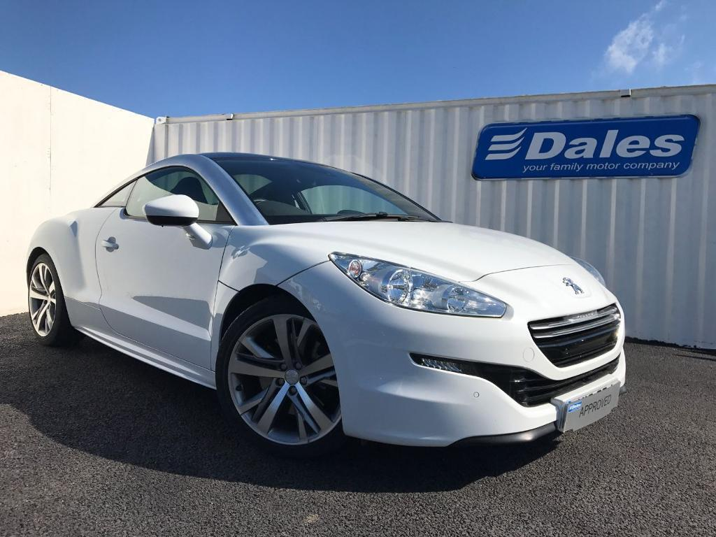 peugeot rcz gt 2 0 hdi diesel coupe white 2014 in redruth cornwall gumtree. Black Bedroom Furniture Sets. Home Design Ideas