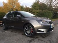 64 PLATE SEAT IBIZA FR EDITION TSI 1.4 GREY 5 DOOR 18,000 MILES ON THE CLOCK IMMACULATE CONDITION