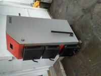 MULTIFUEL EXTERNAL BOILER 20KW - Structure for refitting. Good condition. £400 Tel:0044(0)7840585930
