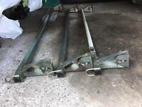Transit van triple roof racks with roller great condition
