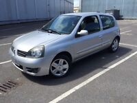 2007/56 RENAULT CLIO 1.1 WITH LONG MOT LOOKS & DRIVES GREAT