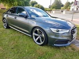 "AUDI A6 2.0 TDI S-LINE, NEW 20"" TTRS ALLOYS, FULL LEATHER **FINANCE FROM £68 A WEEK**"