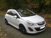 2011 Vauxhall Corsa 1.2 Limited Edition 3dr White,1 Owner From New,Hpi Clear,FVSH,MINT