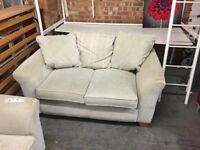 Light grey two seat sofa