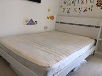 *** Great Quality Double Bed, Mattress & Headboard ***