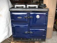 range cooker rayburn stove pj model.in pristine condition. heats water and radiators