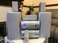 Sony HiFi DVD and double Cassette player