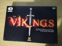 The Vikings 6 DVD box set from The History channel