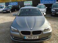 BMW 5 series, 2.0 diesel, 5 door, metallic grey, 2 keys