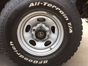 """4 BFGOODRICH ALL TERRAIN TYRES 32"""" 285/75/R16 Ryde Ryde Area Preview"""