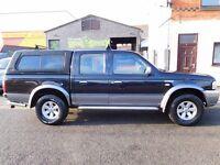 Ford Ranger xlt 2006 4x4 Black with AIR CON. no vat no vat (45)