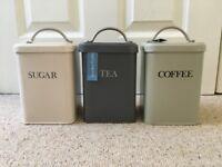 Tea, coffee and sugar storage