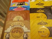 Over 250 assorted singles all in good to very good condition sold as one lot will not split sorry
