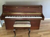 Free Piano and Stool