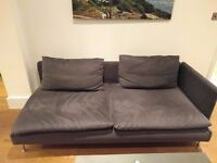 Ikea Soderhalm Chaise Lounge / Sofa Bed